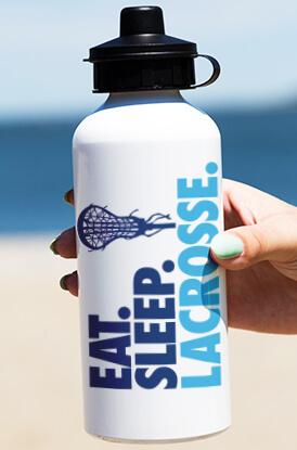 Eat Sleep Lacrosse Water Bottle