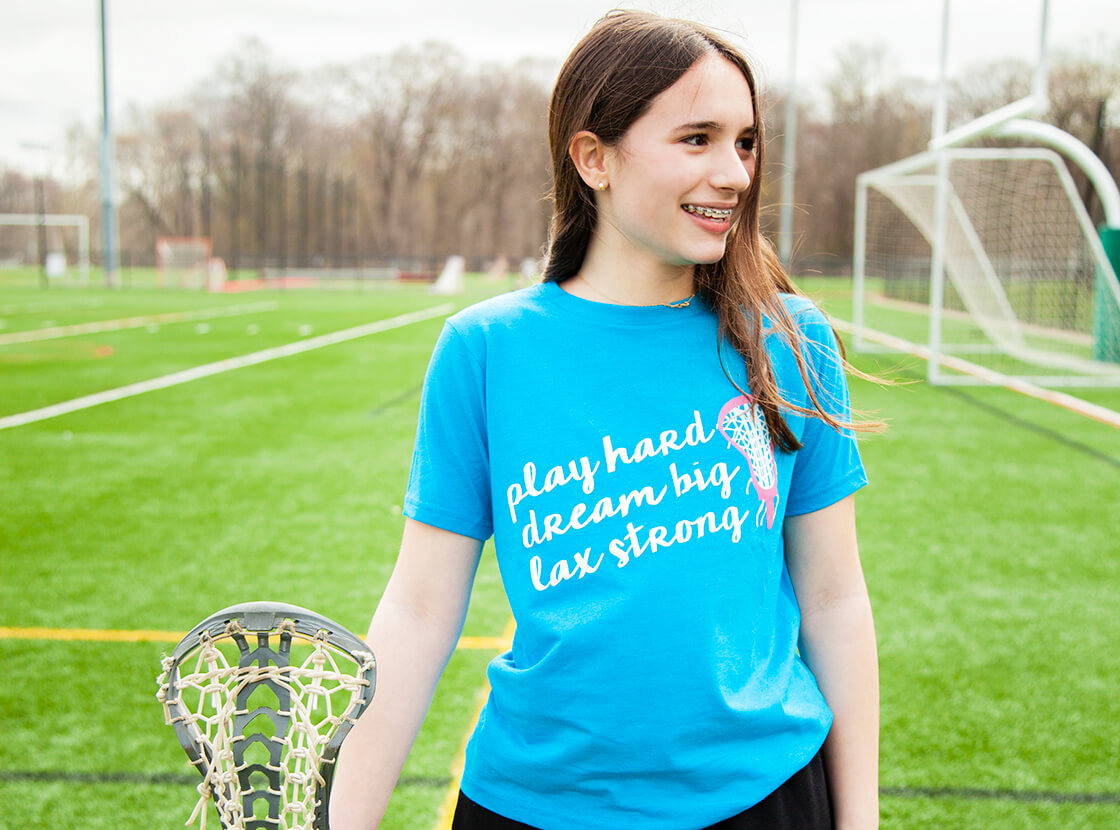 Play Hard Dream Big Lax Strong T-Shirt