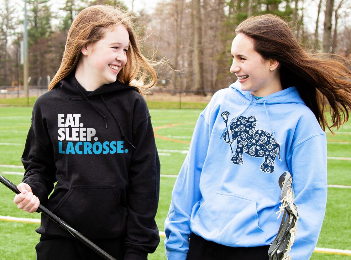 Shop Our Girls Lacrosse Hooded Sweatshirts
