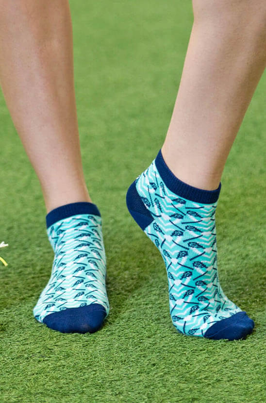 Shop Our Girls Lacrosse Ankle Socks