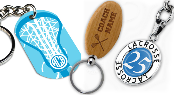 Girls Lacrosse Keychains