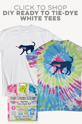 Shop Our DIY Tie-Dye Tees
