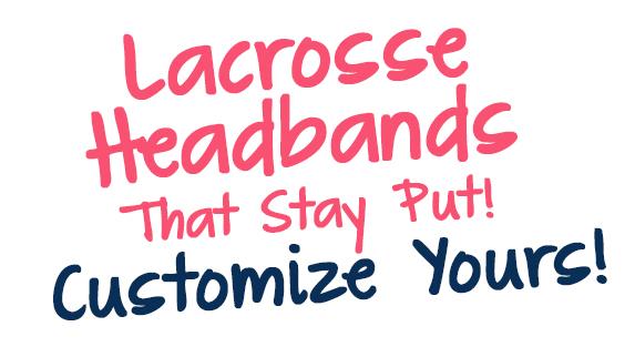 Girls Lacrosse Headbands