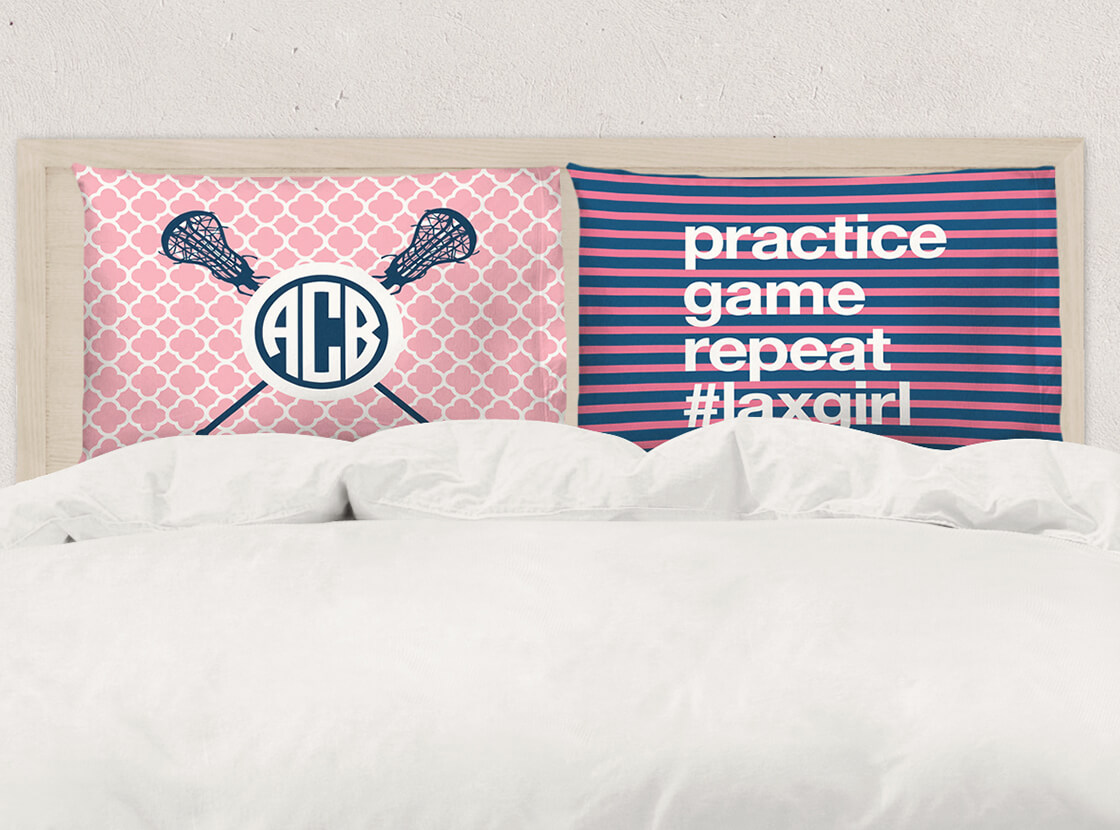 Shop Girls Lacrosse Pillowcases