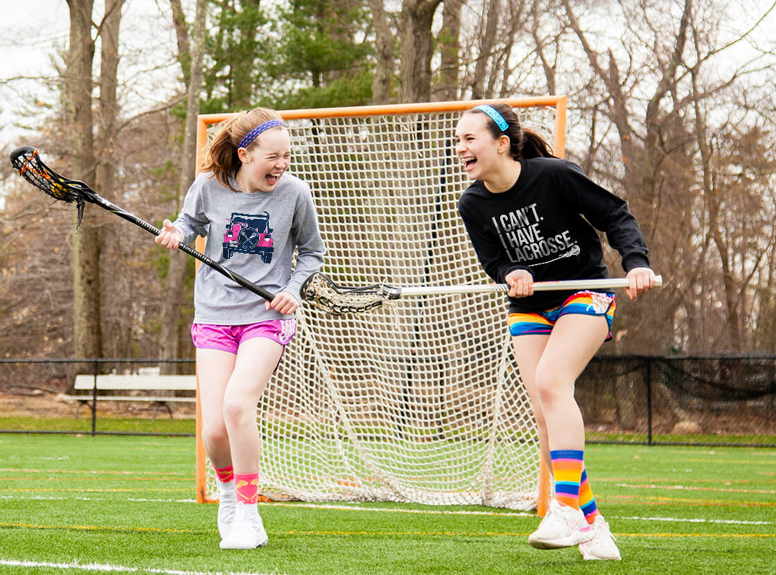 Shop Our Girls Lacrosse Long Sleeve T-Shirts