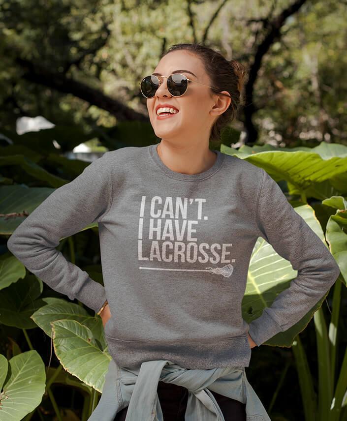 Crew Neck Lacrosse Sweatshirts