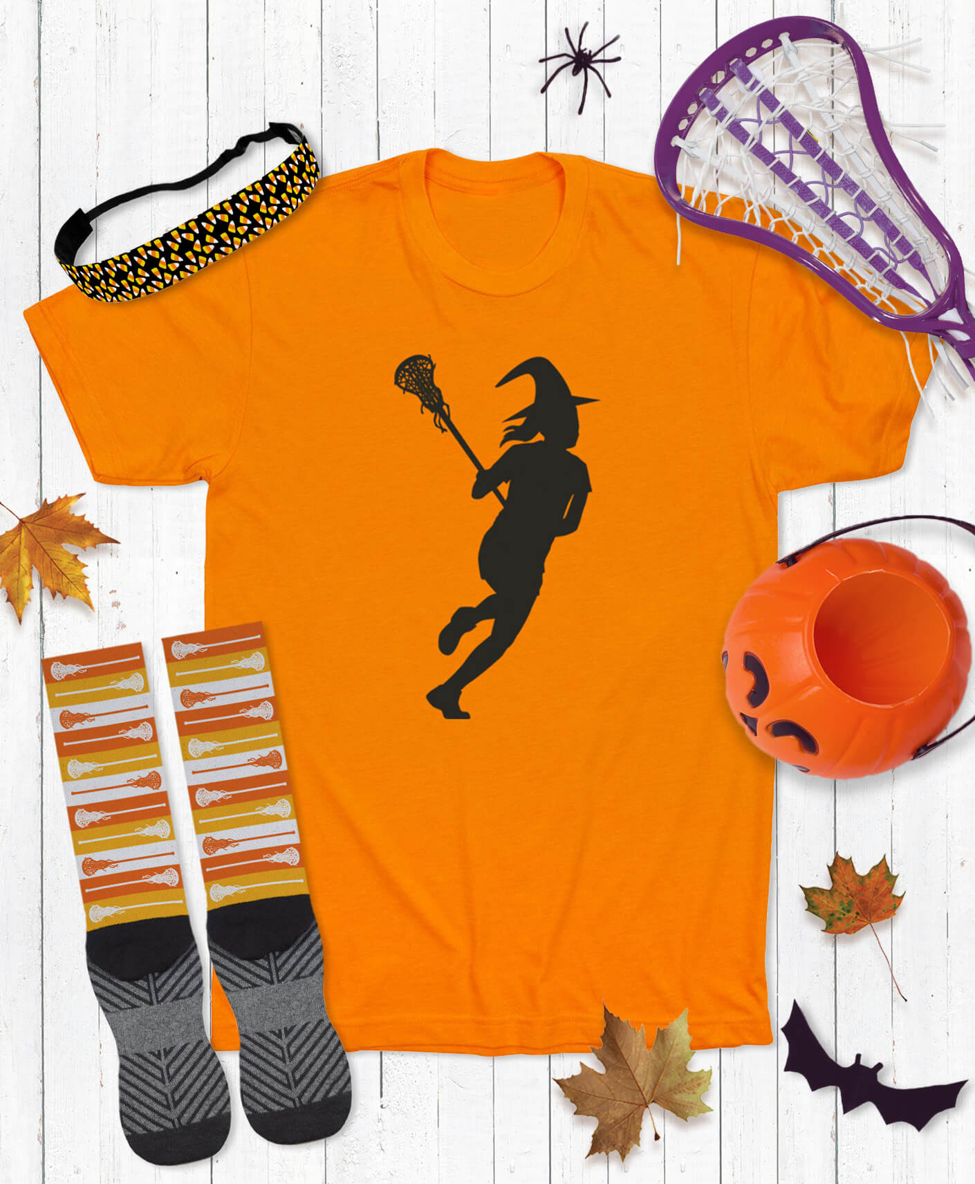 Girls Lacrosse Halloween Apparel