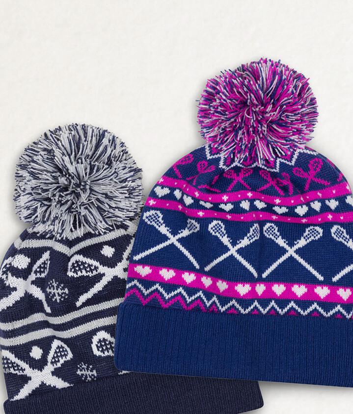 Lacrosse Knit Hats
