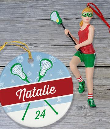 Lacrosse Ornaments