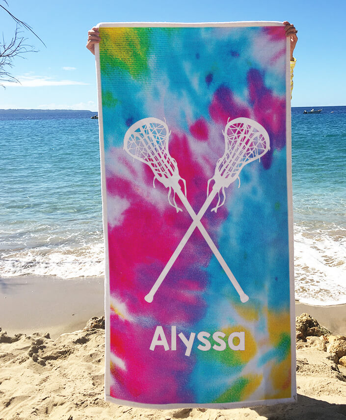 Lacrosse Beach Towels