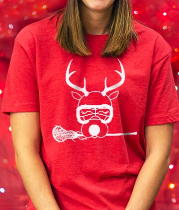 Girls Lacrosse Christmas Tees
