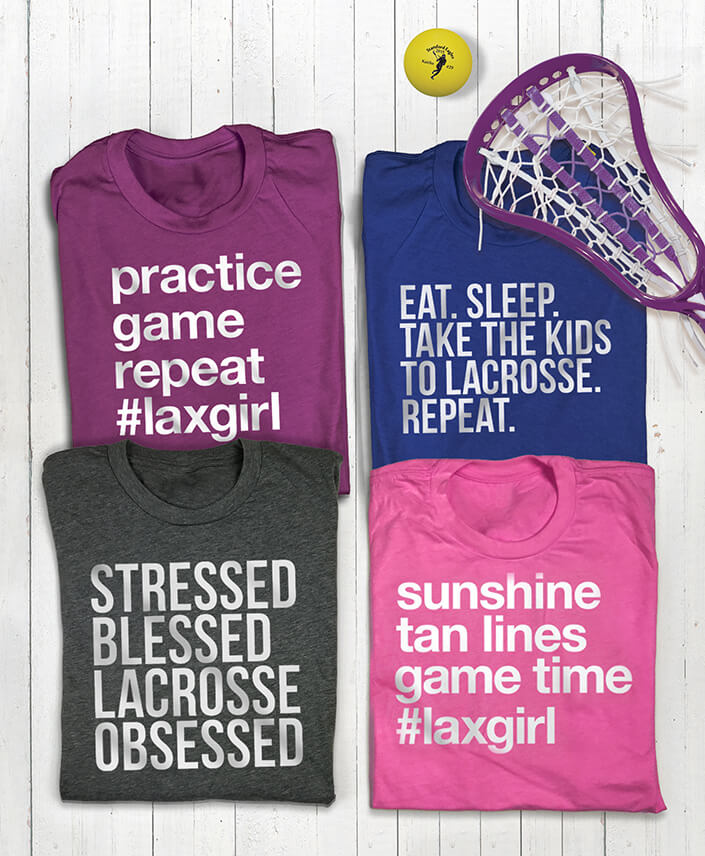 Girls lacrosse life collection