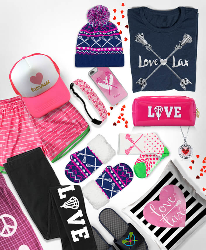 Girls Lacrosse Valentine's Day Gifts