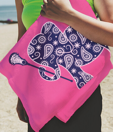 Lacrosse Beach Towels