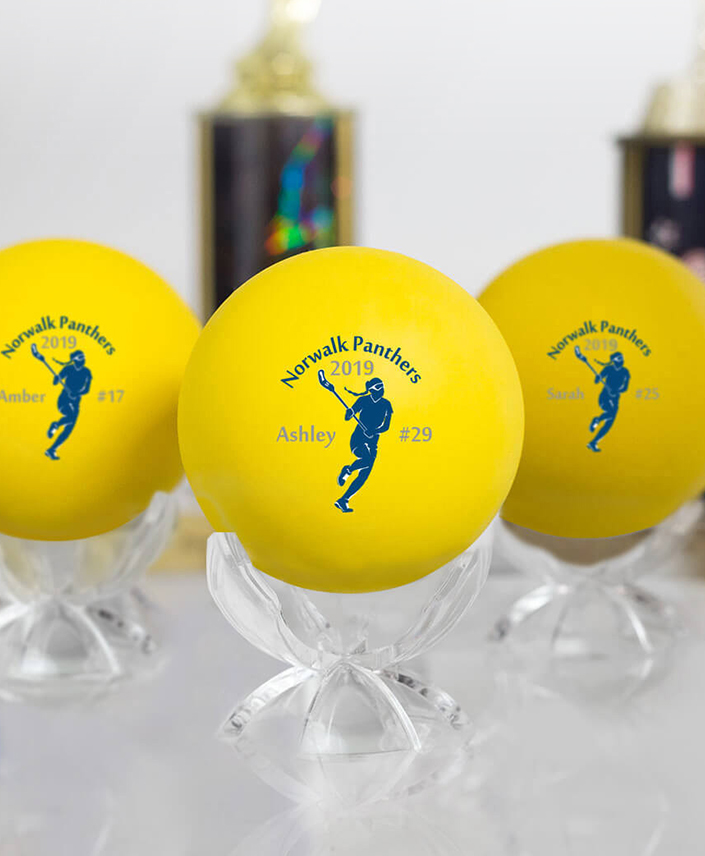 Personalized Lacrosse Balls